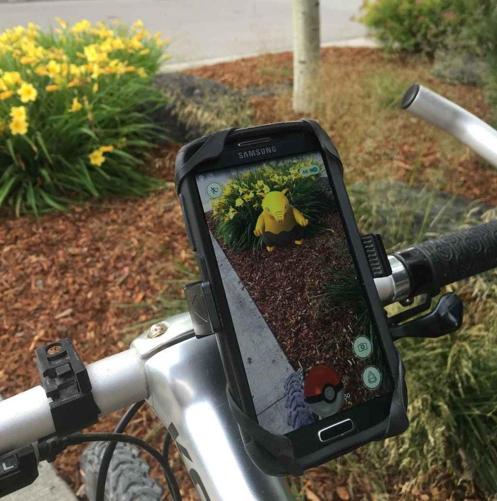 Best Bike Phone Mount/Holder for Pokemon Go